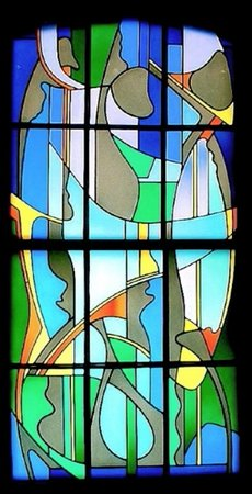 Robert Jekyll, 'Dining Room Window', stained glass, 2005