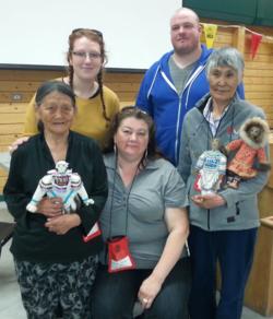Clockwise from top left: Pascale Arpin, Mike Kerr, Helen Iguptak, Elisabeth Gordon, and Hannah Killulark